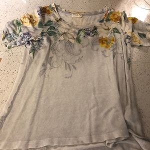 Cotton Tee from Anthropologie